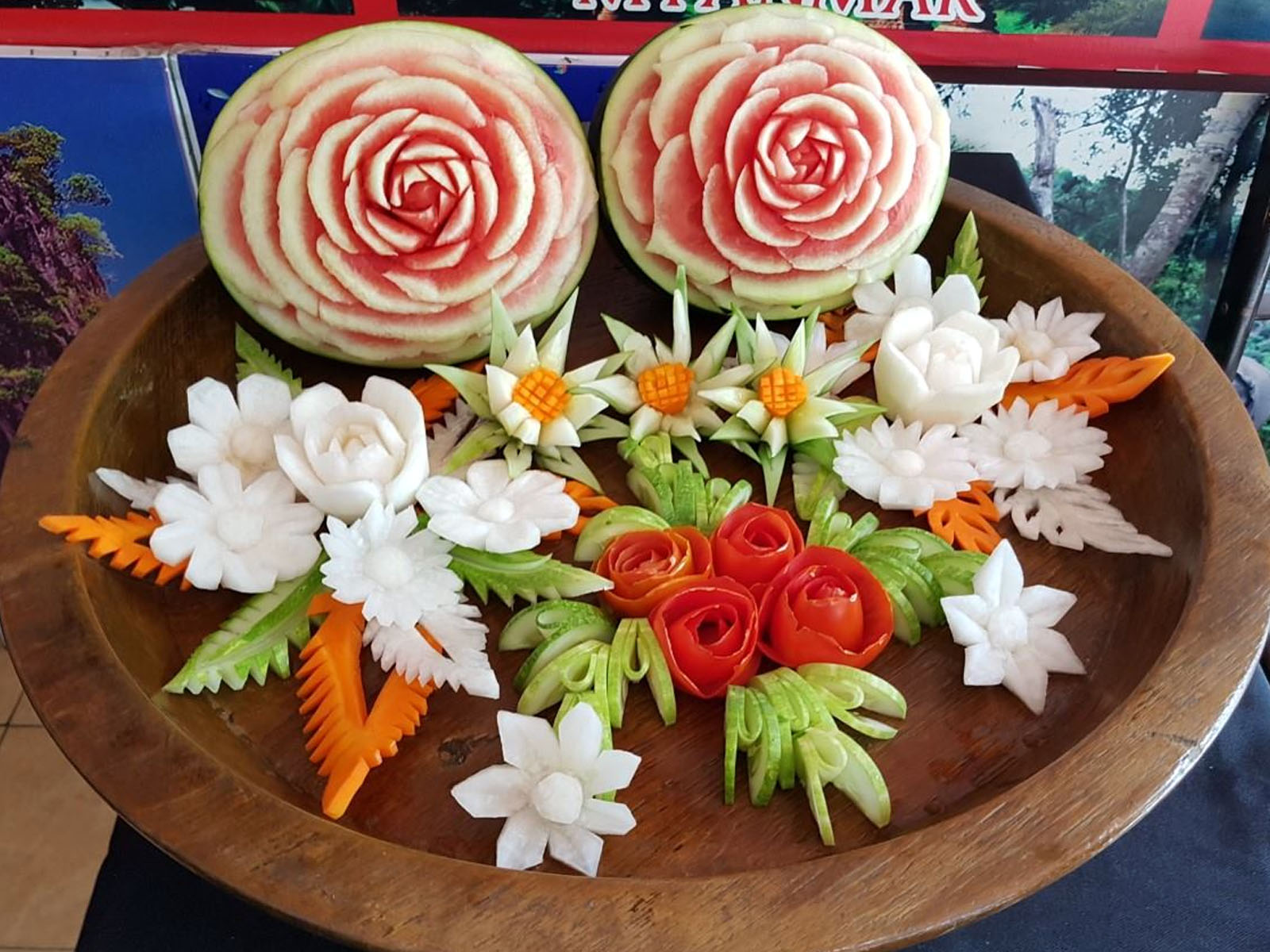 Learn Fruit-Carving | Chiang Mai Trekking | The best trekking in Chiang Mai with Piroon Nantaya