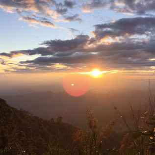 Sunset at Doi Pui | Chiang Mai Trekking | The best trekking in Chiang Mai with Piroon Nantaya