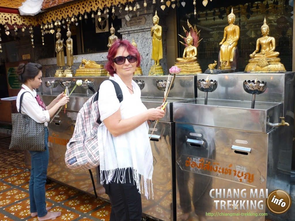 Doi Suthep, Doi Pui & local market | Chiang Mai Trekking | The best trekking in Chiang Mai with Piroon Nantaya