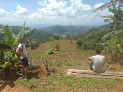 One day trek  8  only  walk  ADRIEN and THOMAS | Chiang Mai Trekking | The best trekking in Chiang Mai with Piroon Nantaya